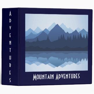 Mountain Silhouette Design Binder