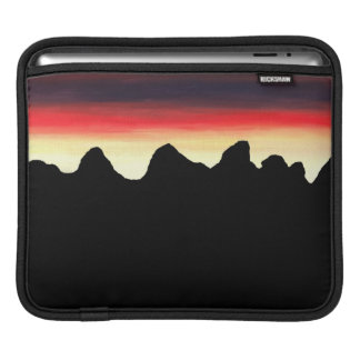 Mountain Silhouette Sleeves For iPads