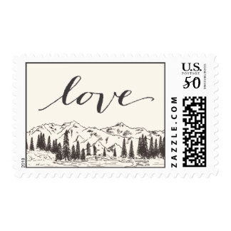 Mountain Sketch | Love Postage
