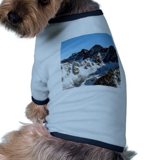 Mountain Snow Covering Pet Clothes