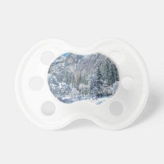 Mountain Snow Flocks Yosemite Par Baby Pacifier