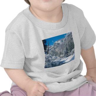 Mountain Snow Flocks Yosemite Par Tshirt