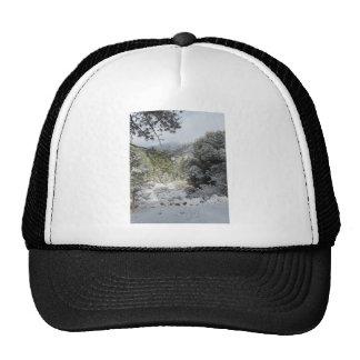 Mountain Snow Landscape Hat
