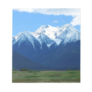 Mountain Snowy Peak Contrast Scratch Pad