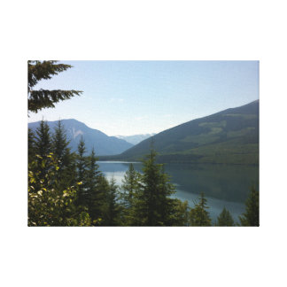 Mountain Solitude Stretched Canvas Prints