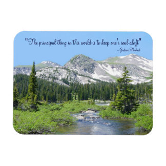 Mountain Soul Scenic Magnet