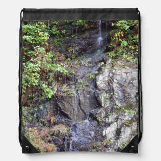 Mountain Spring Drawstring Bag