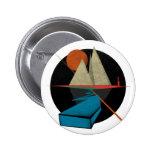 Mountain & Stars Pinback Button