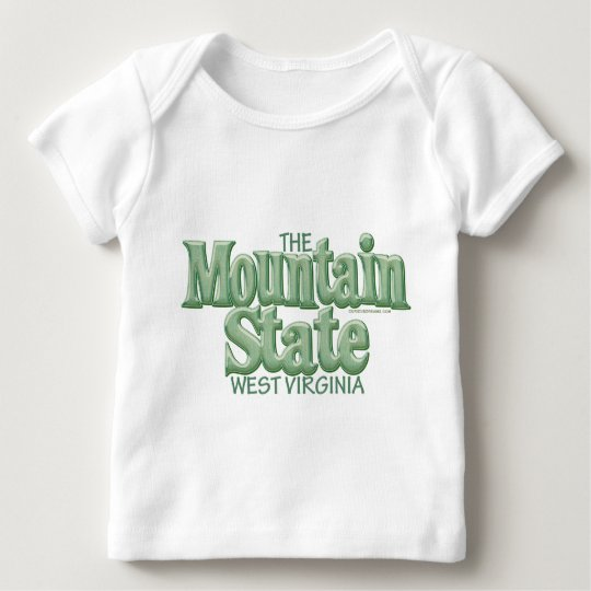 Mountain State, West Virginia Baby T-Shirt