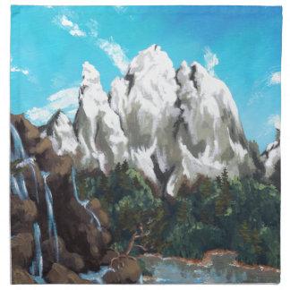 Mountain Steam Cloth Napkin
