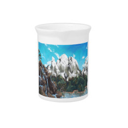 Mountain Steam Drink Pitcher