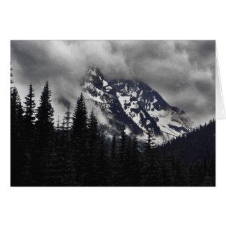 Mountain Storm Card