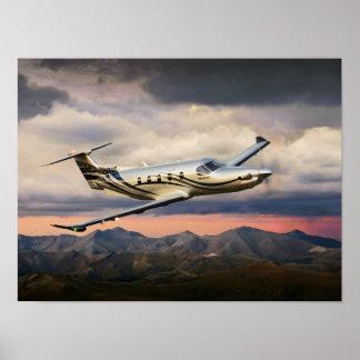 Mountain Storm Pilatus Posters
