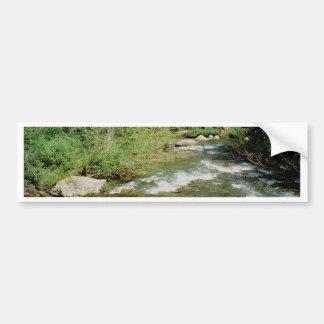 Mountain Stream Bumper Sticker