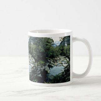 Mountain Stream, Fiordland National Park, South Is Coffee Mugs