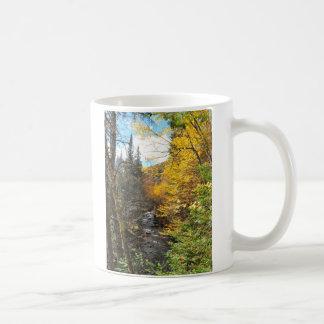 Mountain Stream Foliage Jacques Cartier Mug