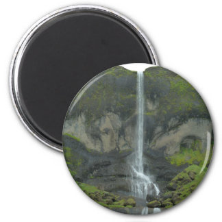 Mountain stream in Iceland Magnet