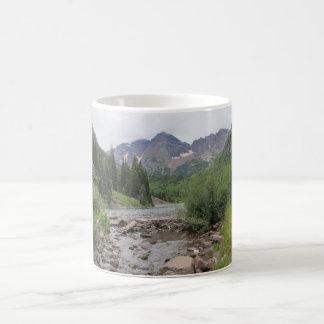 Mountain Stream - Maroon Bells Coffee Mug