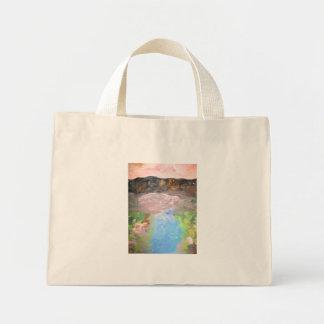Mountain Stream Mini Tote Bag
