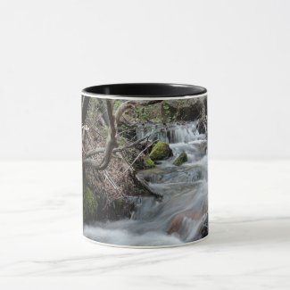 Mountain Stream Nature Mug - Luther Creek
