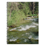 Mountain Stream Spiral Note Books