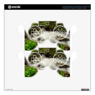 Mountain Stream Waterfall PS3 Controller Skins