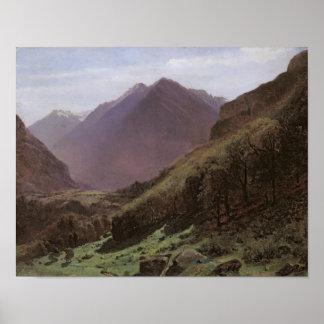 Mountain Study, c.1840-43 Poster