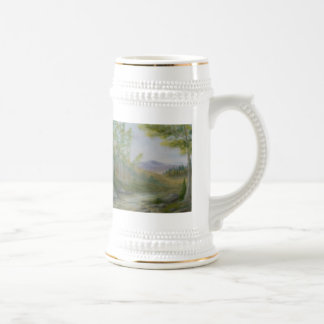 Mountain Summer Landscape Stein