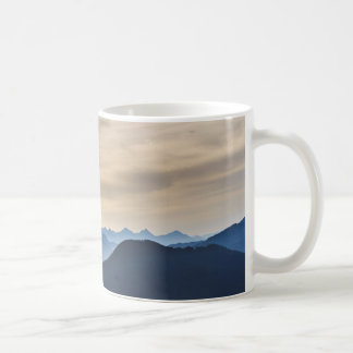 Mountain summit coffee mug