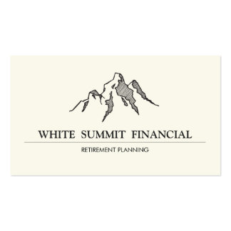 Mountain Summit Finance Professional Double-Sided Standard Business Cards (Pack Of 100)
