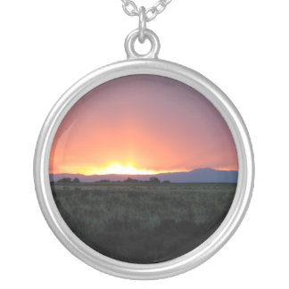 Mountain Sunset 3 necklace
