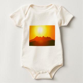 MOUNTAIN SUNSET BABY BODYSUIT