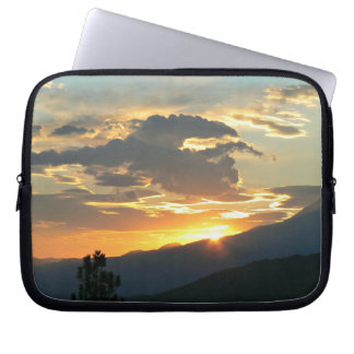 Mountain Sunset Laptop Cover