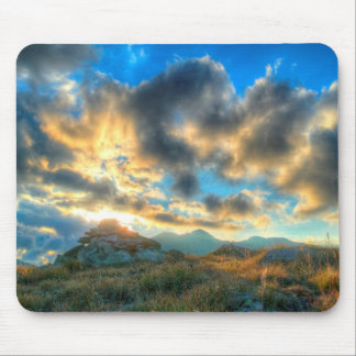 Mountain Sunset Mouse Pad