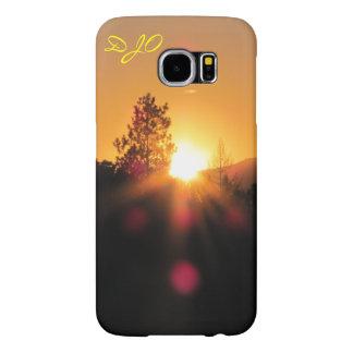 Mountain Sunset Samsung Galaxy S6 Case