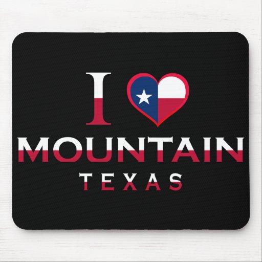 Mountain, Texas Mousepad