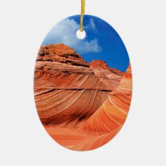 Mountain The Wave Paria Canyon Vermilion Ceramic Ornament