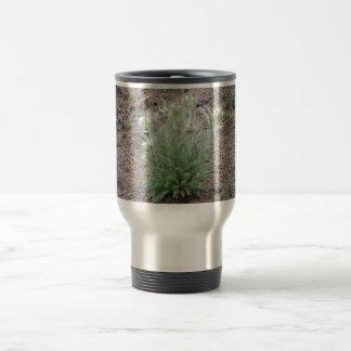 Mountain thistle travel mug