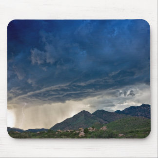 Mountain Thunderstorm Mouse Pad
