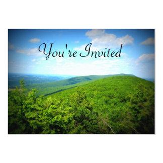 Mountain Top Invitations