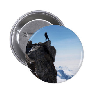 Mountain Top Military Man Buttons
