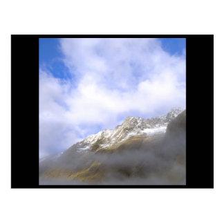 mountain top postcard