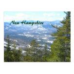 Mountain top view postcard