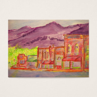 mountain town business card