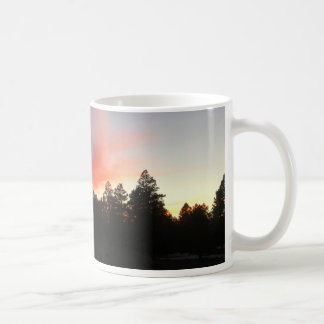 Mountain Town Sunset Classic Mug