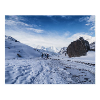 Mountain Trekking in Snow & Ice (Himalayas) Postcard