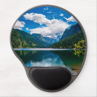 Mountain Valley Lake Gel Mouse Pad