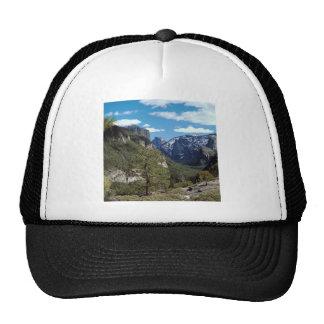 Mountain Valley Vista Yosemite Trucker Hats