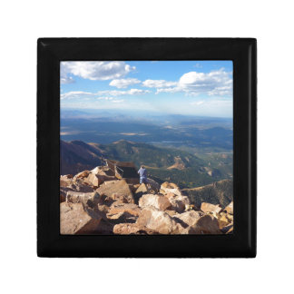 Mountain view at the top of Pikes Peak Jewelry Box
