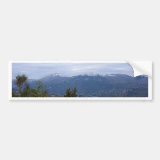 Mountain View Car Bumper Sticker